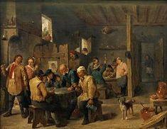 Teniers David - David Teniers d.J., Zechstube