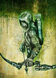 GREEN ARROW by *SaintYak on deviantART