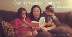Here's a peak at our homeschool routine and some of the curriculum and book choices we are using!