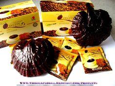 Lingzhi Caffe Nero Black Coffee DXN - in confezione da 20 bustine salute Lavoro