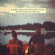 A perfect relationship isn't perfect...