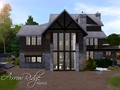 Arrow Ridge house by peskimus - Sims 3 Downloads CC Caboodle