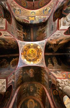Iglesia de Panaghia Kapnikarea, Atenas.