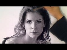 Drawing Anna Kendrick - YouTube