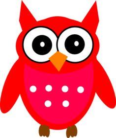 Drawing an owl Cartoon Owl Images, Cute Owl Cartoon, Cartoon Pics, Red Owl, Pink Owl, Owl Clip Art, Owl Art, Funny Owl Pictures, Owl Doodle