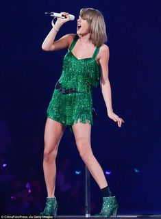 Putting on her own show: While Taylor Swift had a heavy involvement in last year's Victori...