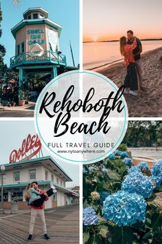 How to have fun in Rehoboth Beach, Delaware : The Ultimate Travel Guide // What to do // Where to Eat // Where to Drink in this retro beach town.