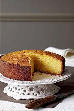 Greek Desserts, Greek Recipes, Tasty, Yummy Food, Cake Bars, Different Recipes, Cake Recipes, Cooking Recipes, Sweets