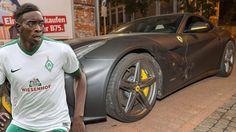Yatabaré-Unfall im Auto von Kollege Sané | Ferrari-Crash! Werder-Profi kam von…