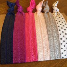 Items similar to Hair Tie Bracelets: Barb / Creaseless Hair Ties on Etsy