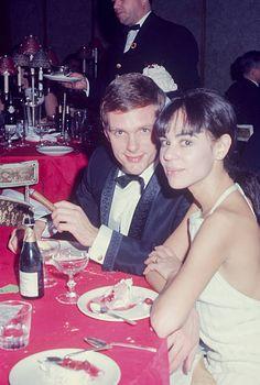 Janice Gero with Brandon DeWilde at a formal dinner circa 1970 New York