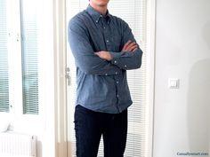 Lean garments chambray shirt Smart Design, App Design, Create Floor Plan, Chambray, House Design, How To Plan, Jackets, Shirts, Fashion