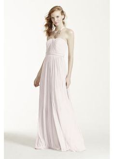 Also, I think with the dress you chose, the mesh version would look great too. :) Versa Convertible Mesh Dress F15782