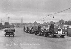 Looking west. Old Guinness vans on Victoria Quay