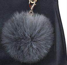 Genda 2Archer 2PCS souple Fluffy Boule Porte Pom Pom Femmes et sacs à main boule de filles Charms (Gris foncé) Genda 2Archer http://www.amazon.fr/dp/B019ROSRZ4/ref=cm_sw_r_pi_dp_4ZsXwb0MCJK8K