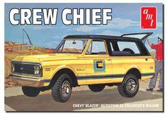 AMT Crew Chief 72 Blazer box art