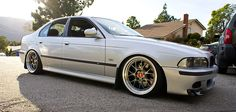 BMW E39 M5 with my favorite wheels of all time BBS LM-R