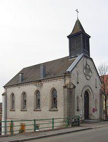 Giromagny (Territoire de Belfort), Église luthérien -  — Wikipédia