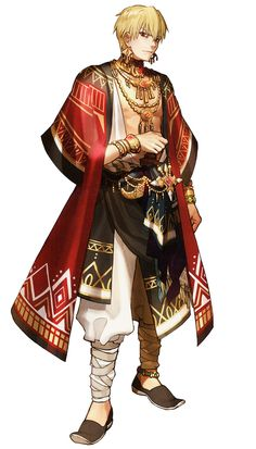 Gilgamesh, Uruk Outfit from Fate/Extella: The Umbral Star