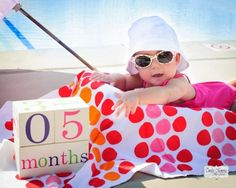 Monthly picture idea infant - need to find those blocks!!!!