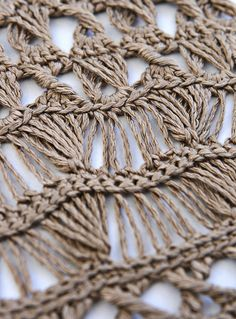 broomstick lace by stitchdiva