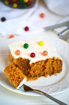 Pumpkin Cake from What The Fork Food Blog