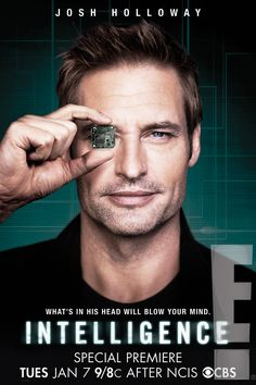 Intelligence First Look: Josh Holloway's Back on TV! And Apparently, Still Hot as Fire