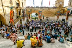 Magnificent Malta photographs from Michael Jurick Photography. Patron Saints, Summer Months, During The Summer, Malta, Times Square, Street View, Country, Travel, Beautiful