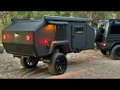 Bruder off-road expedition trailer. Bug Out Trailer, Off Road Camper Trailer, Small Trailer, Trailer Plans, Camper Trailers, Quad Trailer, Utility Trailer, Expedition Trailer, Overland Trailer