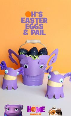 Use an Oh inspired pale to collect all your Easter eggs! Sponsored by DreamWorks.