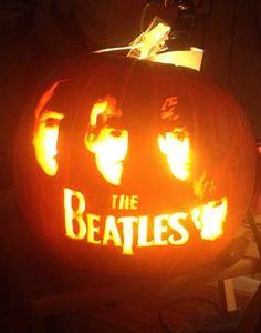 Beatles pumpkin
