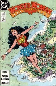 Wonder Woman, ambassador of peace from 'Paradise Island' Themyscira