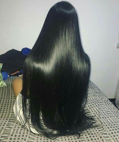 Brazilian Straight Human Hair Wigs Adjustable Pre Plucked top lace Closure HumanHair Wigs 100 Unprocessed Remy Hair For Black Women Real Hair Wigs, Human Hair Wigs, Beautiful Long Hair, Gorgeous Hair, Wig Hairstyles, Straight Hairstyles, Long Dark Hair, Long Straight Black Hair, Silky Hair