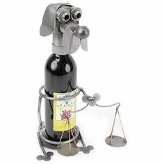 Lawyer Dog Wine Caddy Yardbirds Richard Kolb by Yardbirds Richard Kolb. $90.00. Lawyer Dog Wine Caddy Yardbirds Richard Kolb. Wine Bottle Holder, Carl the Lawyer Dog  Yardbirds by Richard KolbEach Yardbird Wine Bottle Holder is created with scrap and recycled parts. Unique & Whimsical they're perfect to hold a bottle of wine, and excellent to give to the person that has everything. Due to the handcrafted nature of these pieces, no two are ever exactly alike. Choose fro...