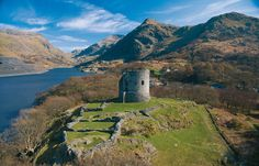 Llywelyn the Great's Fortress, Dolbadarn Castle - LLanberis, Wales