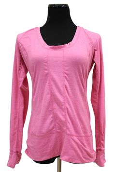 Zella Orchid Easy Breezy Hooded Yoga Workout Top Size M