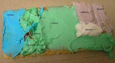 Graham Cracker Landforms Model