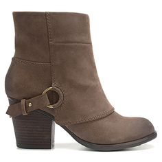I need these in gray....Fergalicious Liza Boot | Women's - Taupe