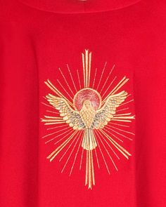 Gold Embroidery, Embroidery Designs, Holly Spirit, Church Banners Designs, Popup, Online Church, Sewing Circles, Gold Work, Gods And Goddesses