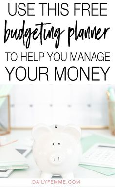 Use this free budgeting planner to help you take control of your finances and manage your money. Includes over 25 pages of budgeting printables for you! Budgeting Finances, Budgeting Tips, Weekly Budget, Take Money, Budget Planer, Student Loan Debt, Managing Your Money, Debt Payoff, Debt Free