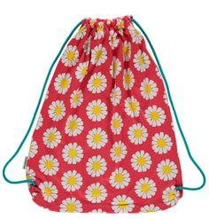 Kinder Turnbeutel Gym Bag DAISY mit Blumen