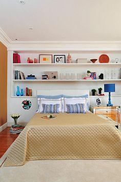prateleiras no quarto de casal - Pesquisa Google