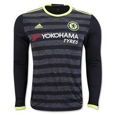 16-17 Chelsea Long Sleeve Away Jersey