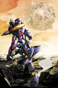 Galvatron and Cyclonus by golby2.deviantart.com on @DeviantArt