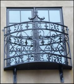 These are so cute! Told T this is one of my must haves when we build! Juliet balcony!