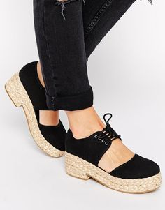 ASOS SPACED Flatforms