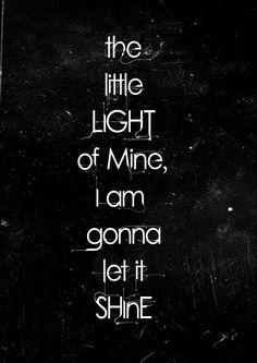 let it Shine.......
