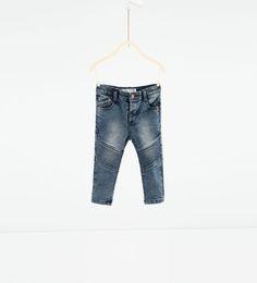 Image 1 of Biker trousers from Zara