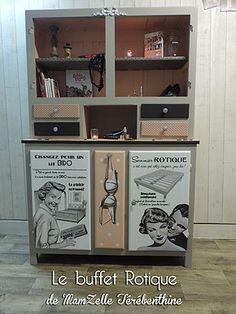 MamZelle Térébenthine peintre en décors. relooking de meubles ( buffets mado, meubles retro...), stages de peinture décorative sur meuble.
