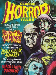 Cover for Horror Tales (Eerie Publications, 1969 series) #v9#2